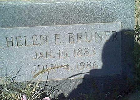 BRUNER, HELEN - Cochise County, Arizona | HELEN BRUNER - Arizona Gravestone Photos