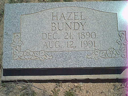 BUNDY, HAZEL - Cochise County, Arizona | HAZEL BUNDY - Arizona Gravestone Photos