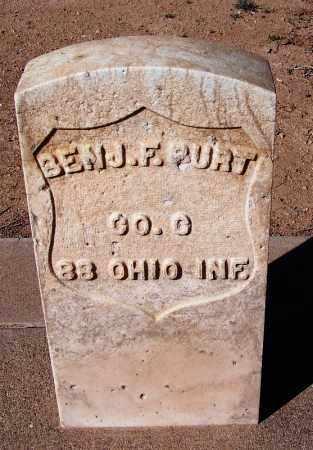 BURT, BENJAMIN F - Cochise County, Arizona | BENJAMIN F BURT - Arizona Gravestone Photos