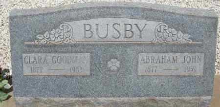 BUSBY, ABRAHAM JOHN - Cochise County, Arizona | ABRAHAM JOHN BUSBY - Arizona Gravestone Photos