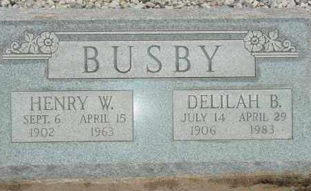 BUSBY, DELILAH B. - Cochise County, Arizona | DELILAH B. BUSBY - Arizona Gravestone Photos