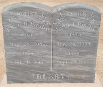 BUSBY, ROSE H - Cochise County, Arizona | ROSE H BUSBY - Arizona Gravestone Photos