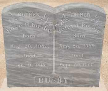 BUSBY, JOHN J. - Cochise County, Arizona | JOHN J. BUSBY - Arizona Gravestone Photos