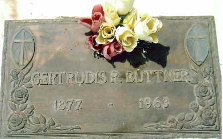 BUTTNER, GERTRUDIS - Cochise County, Arizona | GERTRUDIS BUTTNER - Arizona Gravestone Photos