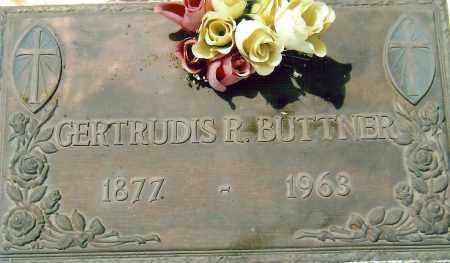 BUTTNER, GERTRUDIS - Cochise County, Arizona | GERTRUDIS BUTTNER - Arizona Gravestone Photos