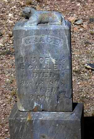 CALLEN, GRACE - Cochise County, Arizona   GRACE CALLEN - Arizona Gravestone Photos