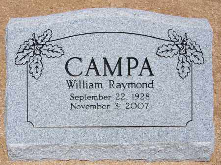 CAMPA, WILLIAM RAYMOND - Cochise County, Arizona | WILLIAM RAYMOND CAMPA - Arizona Gravestone Photos