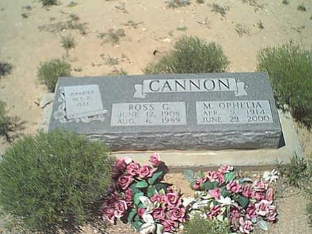 CANNON, ROSS G - Cochise County, Arizona   ROSS G CANNON - Arizona Gravestone Photos