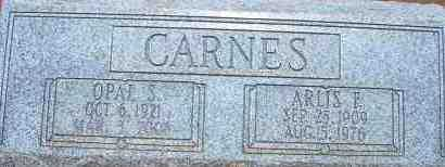CARNES, OPAL S. - Cochise County, Arizona | OPAL S. CARNES - Arizona Gravestone Photos
