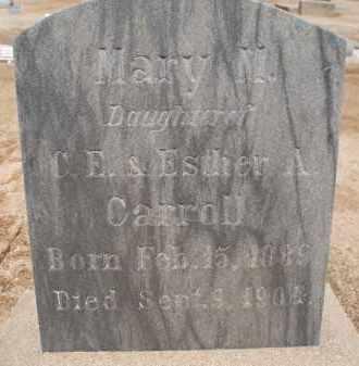 CARROLL, MARY M. - Cochise County, Arizona | MARY M. CARROLL - Arizona Gravestone Photos