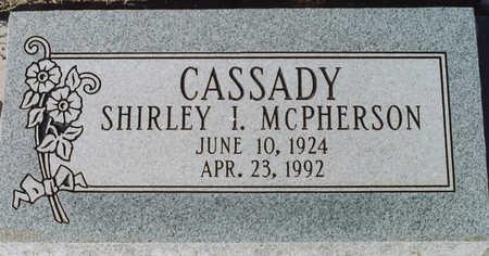 CASSADY, SHIRLEY I - Cochise County, Arizona   SHIRLEY I CASSADY - Arizona Gravestone Photos