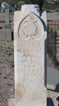 CASTELLO, MICHAEL - Cochise County, Arizona | MICHAEL CASTELLO - Arizona Gravestone Photos
