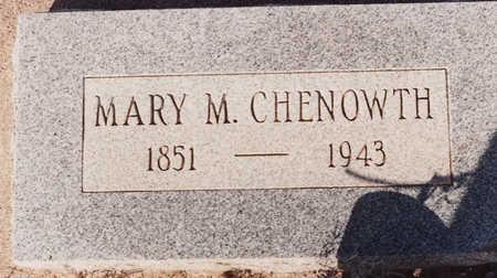 CHENOWTH, MARY M - Cochise County, Arizona | MARY M CHENOWTH - Arizona Gravestone Photos