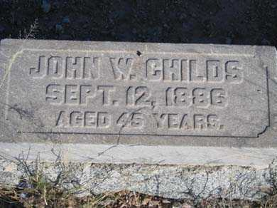 CHILDS, JOHN W - Cochise County, Arizona | JOHN W CHILDS - Arizona Gravestone Photos