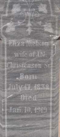 CHRISTENSON, ELIZA NIELSON - Cochise County, Arizona | ELIZA NIELSON CHRISTENSON - Arizona Gravestone Photos