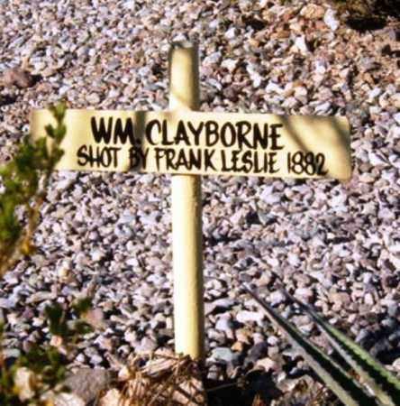 CLAIBORNE, BILLY - Cochise County, Arizona | BILLY CLAIBORNE - Arizona Gravestone Photos