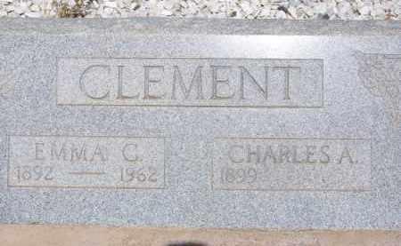 CLEMENT, EMMA C. - Cochise County, Arizona | EMMA C. CLEMENT - Arizona Gravestone Photos