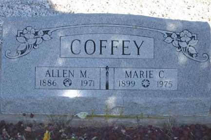 COFFEY, ALLEN M - Cochise County, Arizona | ALLEN M COFFEY - Arizona Gravestone Photos