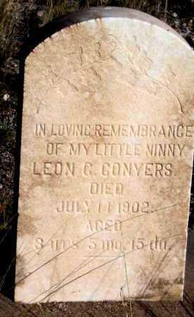 CONYERS, LEON C - Cochise County, Arizona | LEON C CONYERS - Arizona Gravestone Photos
