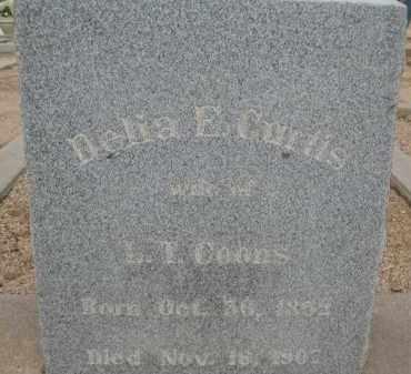 COONS, DELIA E. - Cochise County, Arizona | DELIA E. COONS - Arizona Gravestone Photos