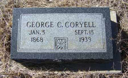 CORYELL, GEORGE C - Cochise County, Arizona | GEORGE C CORYELL - Arizona Gravestone Photos