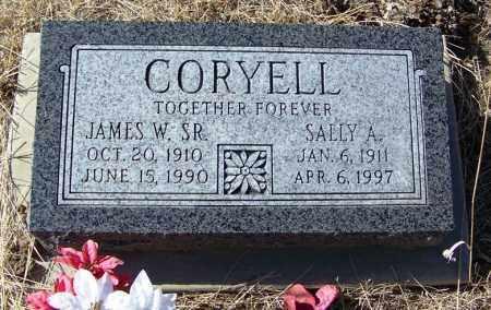 CORYELL, SALLY A - Cochise County, Arizona | SALLY A CORYELL - Arizona Gravestone Photos