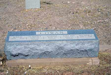 COWAN, CLARENCE - Cochise County, Arizona | CLARENCE COWAN - Arizona Gravestone Photos