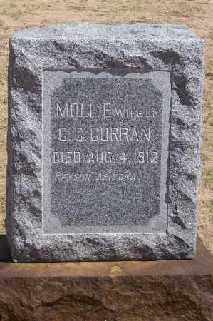 "CURRAN, MARY C. ""MOLLIE"" - Cochise County, Arizona | MARY C. ""MOLLIE"" CURRAN - Arizona Gravestone Photos"