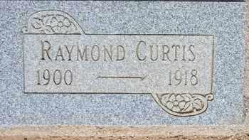 CURTIS, RAYMOND - Cochise County, Arizona | RAYMOND CURTIS - Arizona Gravestone Photos