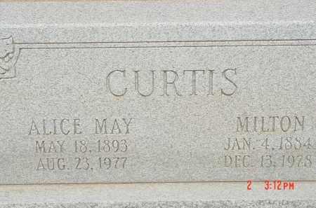 CURTIS, MILTON - Cochise County, Arizona | MILTON CURTIS - Arizona Gravestone Photos