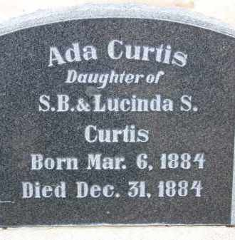 CURTIS, ADA - Cochise County, Arizona   ADA CURTIS - Arizona Gravestone Photos