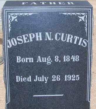 CURTIS, JOSEPH N. - Cochise County, Arizona   JOSEPH N. CURTIS - Arizona Gravestone Photos