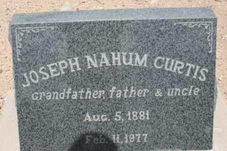 CURTIS, JOSEPH NAHUM - Cochise County, Arizona | JOSEPH NAHUM CURTIS - Arizona Gravestone Photos