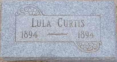 CURTIS, LULA - Cochise County, Arizona | LULA CURTIS - Arizona Gravestone Photos