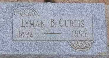 CURTIS, LYMAN B. - Cochise County, Arizona | LYMAN B. CURTIS - Arizona Gravestone Photos