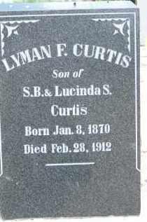 CURTIS, LYMAN F. - Cochise County, Arizona | LYMAN F. CURTIS - Arizona Gravestone Photos