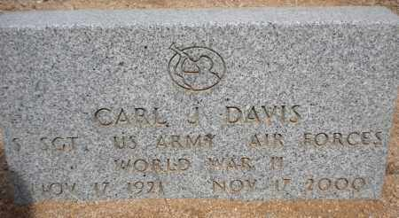 DAVIS, CARL J - Cochise County, Arizona | CARL J DAVIS - Arizona Gravestone Photos