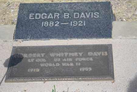 DAVIS, HERBERT  WHITNEY - Cochise County, Arizona | HERBERT  WHITNEY DAVIS - Arizona Gravestone Photos
