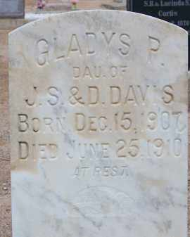 DAVIS, GLADYS P. - Cochise County, Arizona | GLADYS P. DAVIS - Arizona Gravestone Photos