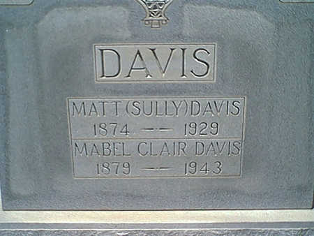 DAVIS, MATT - Cochise County, Arizona | MATT DAVIS - Arizona Gravestone Photos