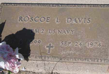 DAVIS, ROSCOE L - Cochise County, Arizona | ROSCOE L DAVIS - Arizona Gravestone Photos