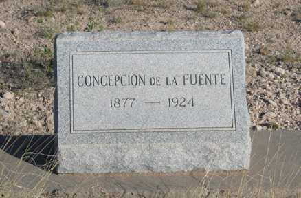 DE LA FUENTE, CONCEPCION - Cochise County, Arizona | CONCEPCION DE LA FUENTE - Arizona Gravestone Photos
