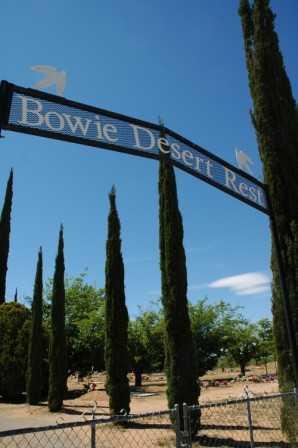 DESERT REST, BOWIE - Cochise County, Arizona   BOWIE DESERT REST - Arizona Gravestone Photos