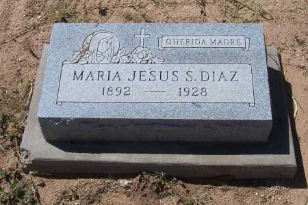DIAZ, MARIA JESUS S. - Cochise County, Arizona | MARIA JESUS S. DIAZ - Arizona Gravestone Photos