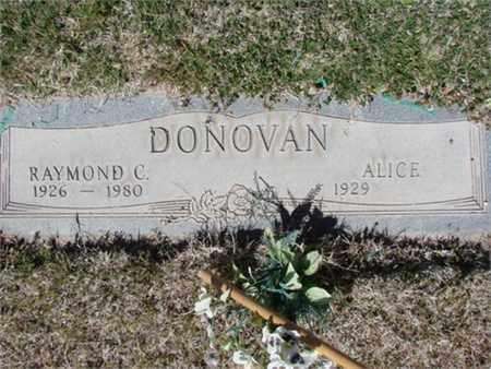 DONOVAN, ALICE - Cochise County, Arizona | ALICE DONOVAN - Arizona Gravestone Photos