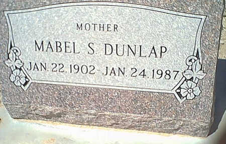 DUNLAP, MABEL - Cochise County, Arizona | MABEL DUNLAP - Arizona Gravestone Photos