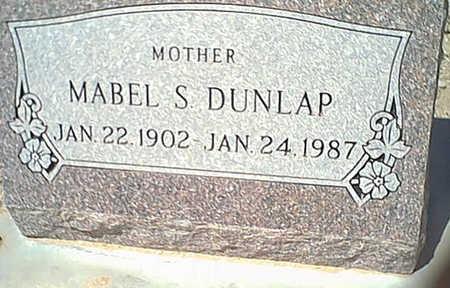 DUNLAP, MABEL - Cochise County, Arizona   MABEL DUNLAP - Arizona Gravestone Photos