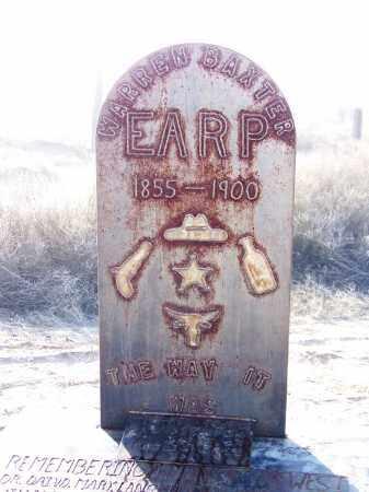 EARP, WARREN BAXTER - Cochise County, Arizona | WARREN BAXTER EARP - Arizona Gravestone Photos