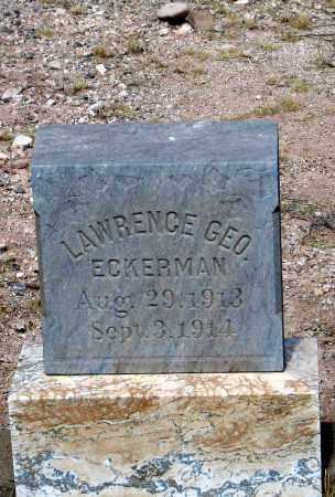 ECKERMAN, LAWRENCE GEO. - Cochise County, Arizona   LAWRENCE GEO. ECKERMAN - Arizona Gravestone Photos