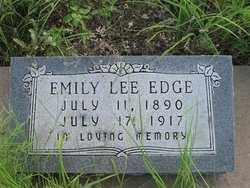 EDGE, EMILY LEE - Cochise County, Arizona | EMILY LEE EDGE - Arizona Gravestone Photos